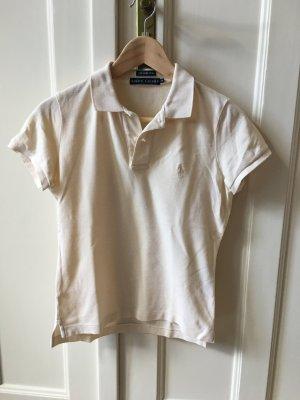 Ralph Lauren Polo beige chiaro-bianco sporco