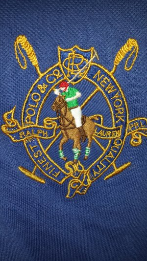 Ralph Lauren Poloshirt großes Emblem