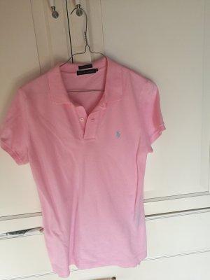 Polo Ralph Lauren Camiseta tipo polo rosa-azul claro