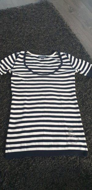 Ralph Lauren Shirt Jacket white-dark blue