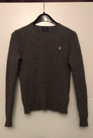 Polo Ralph Lauren Cable Sweater grey-white