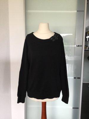 Ralph Lauren Jersey de lana negro