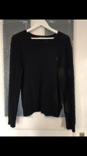 Polo Ralph Lauren Jersey de lana negro-lila