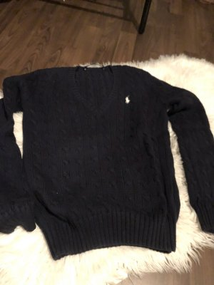 Ralph Lauren Sport V-Neck Sweater dark blue