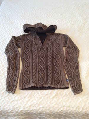 Ralph Lauren, Pullover, braun meliert, Kapuze