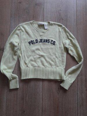 ralph lauren pullover gr. m limette = gr. 36