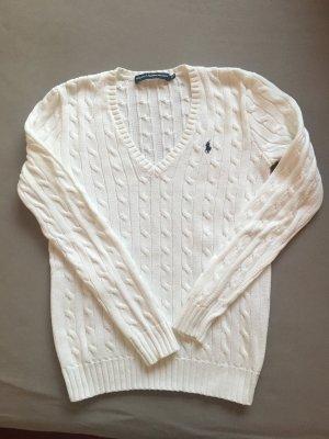 Ralph Lauren Pullover mit Zopfmuster Größe S