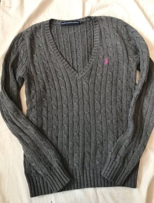 Ralph Lauren Cable Sweater grey