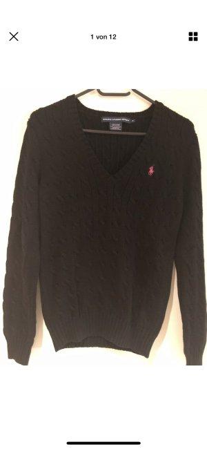Ralph Lauren V-Neck Sweater black