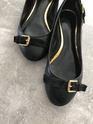 Ralph Lauren Pumps, Slipper, Leder Gr 38. KP 130€