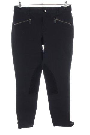 Ralph Lauren Riding Trousers black casual look