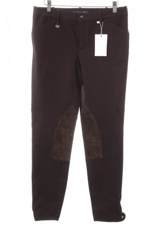 Ralph Lauren Riding Trousers dark brown casual look