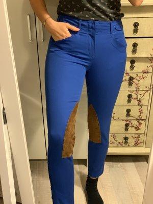 Ralph Lauren Pantalón de equitación azul Algodón