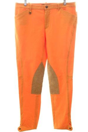 Ralph Lauren Reiterhose orange-hellbraun sportlicher Stil
