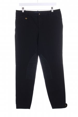 Ralph Lauren Reiterhose schwarz-graublau Reiter-Look