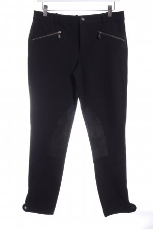Ralph Lauren Riding Trousers black classic style