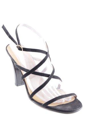 Ralph Lauren Riemchen-Sandaletten schwarz Elegant