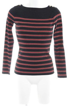 Ralph Lauren Crewneck Sweater horizontal stripes casual look