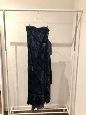 Ralph Lauren Vestido bustier azul oscuro