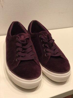 Ralph Lauren Samt Sneaker, Größe 41, NEU