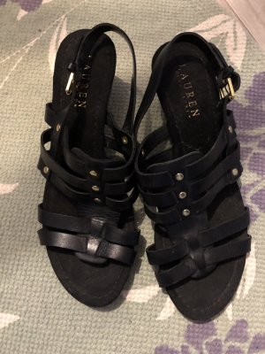 Polo Ralph Lauren Platform Sandals black