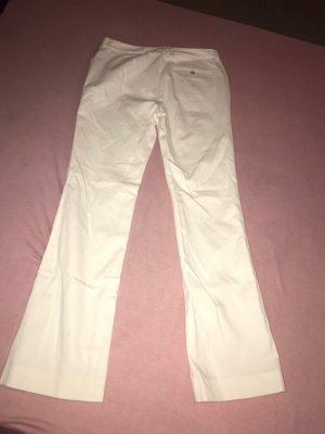 Ralph Lauren Pantalón de campana crema