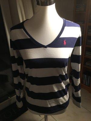 Ralph Lauren Shirt blau-weiß Größe M