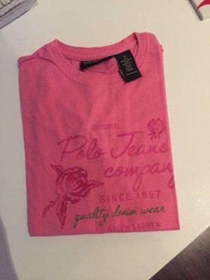 Ralph Lauren Shirt Gr. S pink