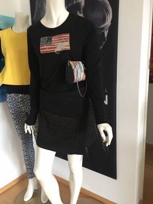 Guess Falda de lana negro