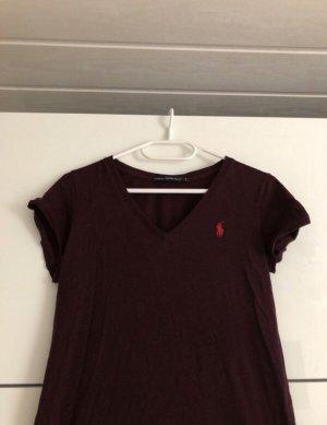 Ralph Lauren Shirt V-Ausschnitt Neu Ungetragen Meliert