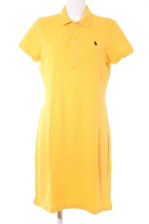 Ralph Lauren Shirtkleid dunkelgelb Casual-Look