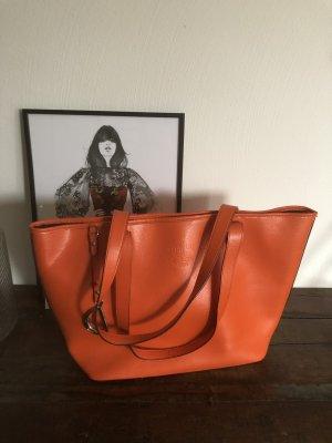 Lauren by Ralph Lauren Shopper oranje