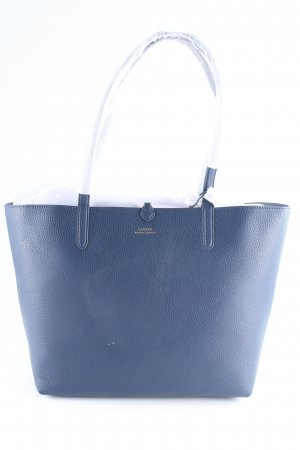 "Lauren by Ralph Lauren Shopper ""Merrimack Tote Vegan Leather Navy/Blue Mist"""
