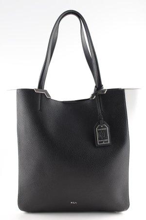Ralph Lauren Shopper schwarz-weiß Casual-Look