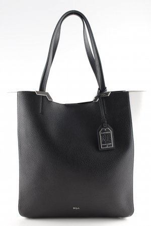 Ralph Lauren Shopper schwarz-weiß Casual-Look