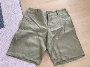 Ralph Lauren Shorts Bermuda Leinen Khaki 4