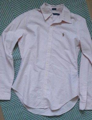 Ralph Lauren Skinny Fit Bluse Streifen Pastell 6