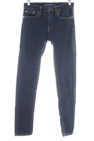 Ralph Lauren Skinny Jeans dunkelblau Jeans-Optik