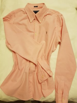 Ralph Lauren Slim Fit Bluse rosa US10