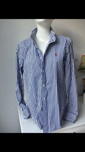 Ralph Lauren Slim Fit dunkelblau-weiß Gr. 42