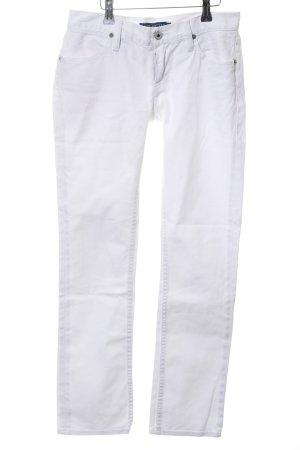 Ralph Lauren Slim Jeans weiß Casual-Look