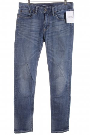Ralph Lauren Slim Jeans blau Street-Fashion-Look