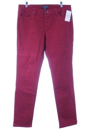 Ralph Lauren Slim Jeans dunkelrot Casual-Look