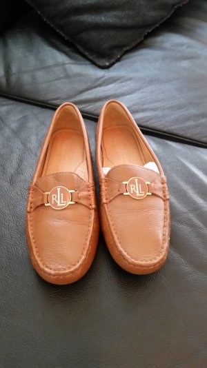 Ralph Lauren Slipper braun