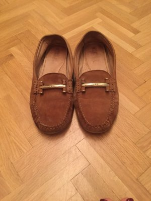Ralph Lauren Slipper camel 40
