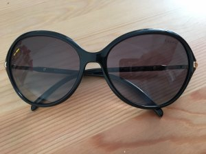 Ralph Lauren Butterfly Glasses black-gold-colored synthetic material