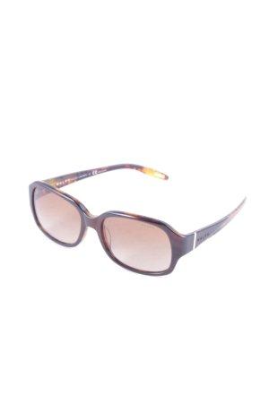 Ralph Lauren Sonnenbrille dunkelbraun-beige Tortoisemuster Casual-Look