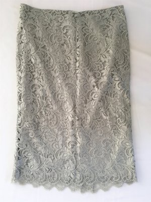 Ralph Lauren Lace Skirt grey mixture fibre
