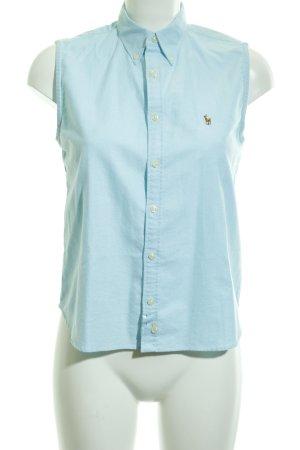 Ralph Lauren Sport Mouwloze blouse lichtblauw casual uitstraling