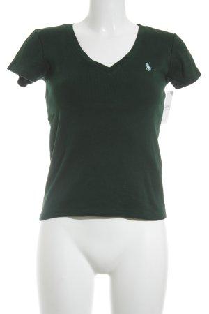 Ralph Lauren Sport Haut basique vert forêt-bleu clair style décontracté